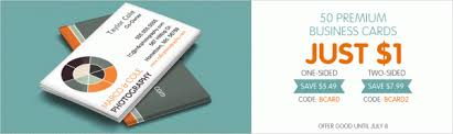 50 premium two sided business cards only 1 become a coupon