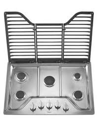 30 Inch 5 Burner Gas Cooktop 30 Inch 5 Burner Gas Cooktop With Ez 2 Lift Hinged Cast Iron