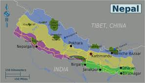 Map Of Nepal And Tibet by Uncategorized
