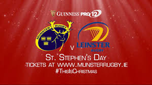 Guinness Flag Munster V Leinster On St Stephen U0027s Day Youtube