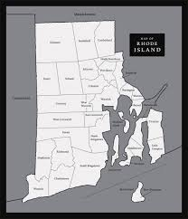 Rhode Island Map Large Map Of Rhode Island State Rhode Island State Large Map