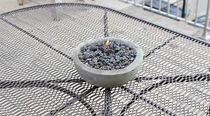 How To Make A Table Fire Pit - diy gel fire pits easy u0026 cheap sizzle for table tops home