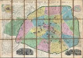 Map Of Paris France by File 1877 Vuillemin Folding Pocket Map Of Paris France