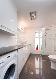 laundry bathroom ideas laundry in bathroom combo floor plan arredamento