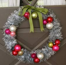 christmas crafts tinsel wreath blinds 2go blog