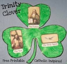 st patrick u0027s day project trinity is like a shamrock catholic