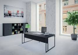 mobilier bureau pas cher mobilier de bureau discount bureau noir pieds m tal noir mobilier