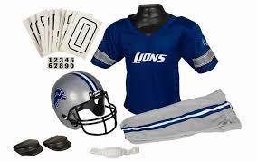 Halloween Football Costumes Amazon Detroit Lions Nfl Youth Uniform Halloween Costume