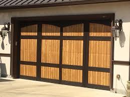 custom wooden garage doors u2013 doug u0027s garage door service