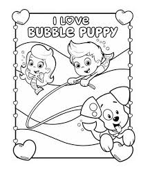 bubble guppies coloring book colouring pages shimosoku biz