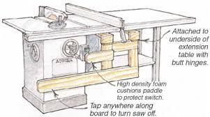 table saw safety switch table saw safety switch woodworking blog videos plans how to