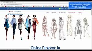 online fashion designing courses cad free demo class hindi