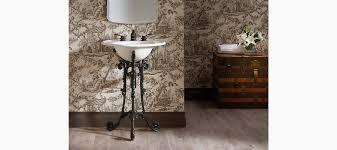 iron works historic sink pedestal k 2823 kohler