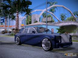 roll royce ross rolls royce for gta san andreas