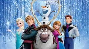 film frozen intero frozen il regno di ghiaccio a roma con i registi e le voci del