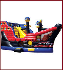 party rental orange county pirate ship combo jumper combos all jumpers