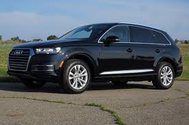 audi jeep 2017 audi q7 2 0t quattro first test placebo parsimony motor trend