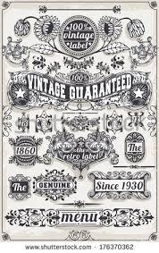engraved ribbon vintage banner blackboard vintage stock vector