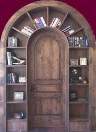 Arched Bookcase Library Bookcase With Doors Foter