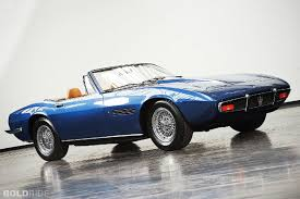 convertible maserati spyder bold ride of the week 1970 maserati ghibli spyder