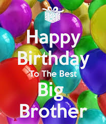 Happy Birthday Wishes To Big Birthday Wishes To The Best Big Brother Happy Birthday Pictures