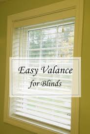 easy no hardware valance for blinds u2014blog birch landing home