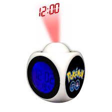light projection alarm clock dropshipping night light projection alarm clock pokemon go reloj
