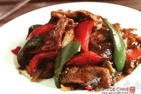 cuisine chinoise boeuf aux oignons filet de boeuf au poivre noir recette chinoise