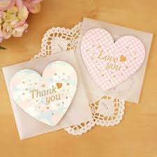 online shop 10pc lot customize white paper heart folding greeting