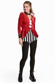 circus costume white striped h m gb