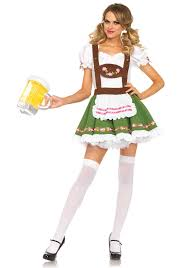 Gretchen Costume Halloween Leg Avenue Oktoberfest Sweetie Costume German Beer Lederhosen