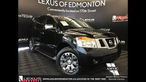 black nissan armada used black 2015 nissan armada platinum edition walkaround review