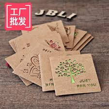 aliexpress buy free ship 1lot 48pc small hollow kraft paper