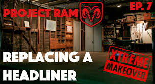Dodge Dakota Lmc Truck - replacing a headliner project ram ep 7 youtube