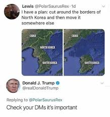 North Korea South Korea Meme - dopl3r com memes lewis polarsaurusrex 1d i have a plan cut