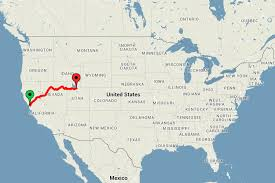 america map utah across the usa by for just 186