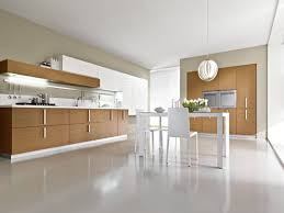 modular kitchen design displaying u shaped black white high gloss
