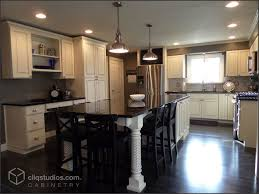 glaze finish kitchen cabinets gorgeous large kitchen remodel featuring cliqstudios carlton