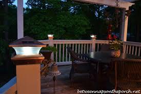 Led Solar Deck Lights - unique ideas post lights for decks led deck lighting crafts home