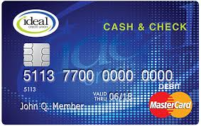 free debit card ideal credit union ideal credit union