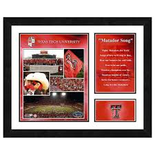 tech wall art tech red raiders milestones u0026 memories framed wall art