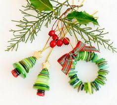 colorful button tree ornaments ornaments