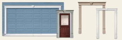 Exterior Door Pediment And Pilasters Garage Door Pediments Restored Front Door Pediment And Pilasters