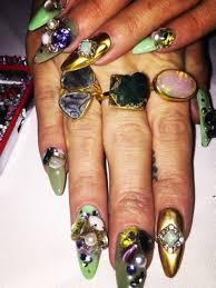 these bffs do it best ikrushblog rihanna nail artist best nail
