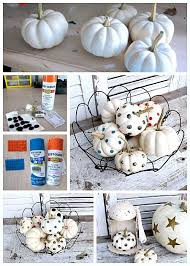 Where To Buy Upholstery Tacks Decorating White Pumpkins For Holiday And Fall Displays Gold