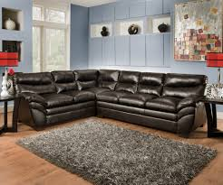 simmon soho espresso sectional sectional sofa sets