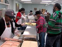 st augustine s holds its annual meal for the need on thanksgiving