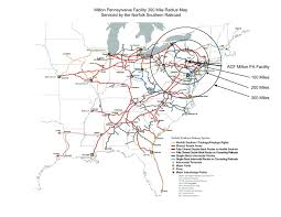 Canadian Pacific Railway Map Routing Acf Industries Llc