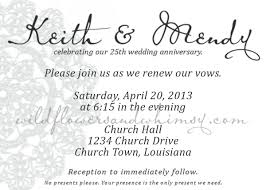 exles of wedding program diy vow renewal invites a free vow renewal