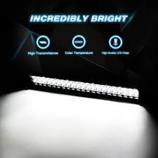 led light bar nilight 20 inch 126w led work light spot